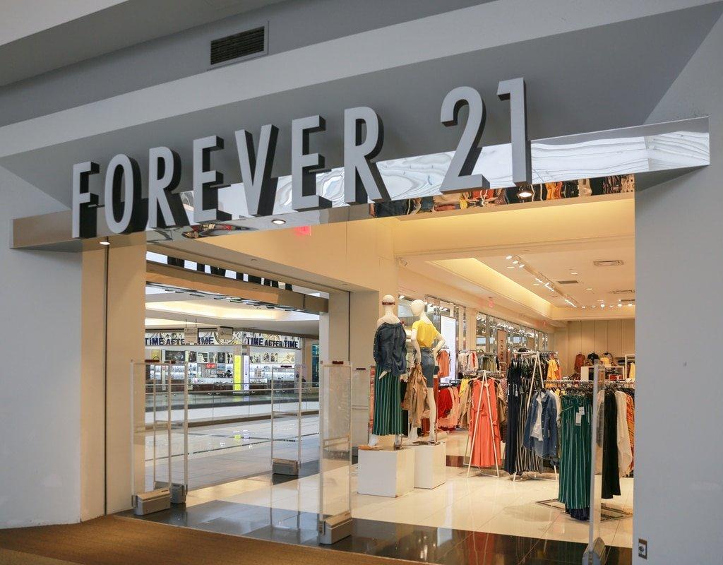 forever21 closure