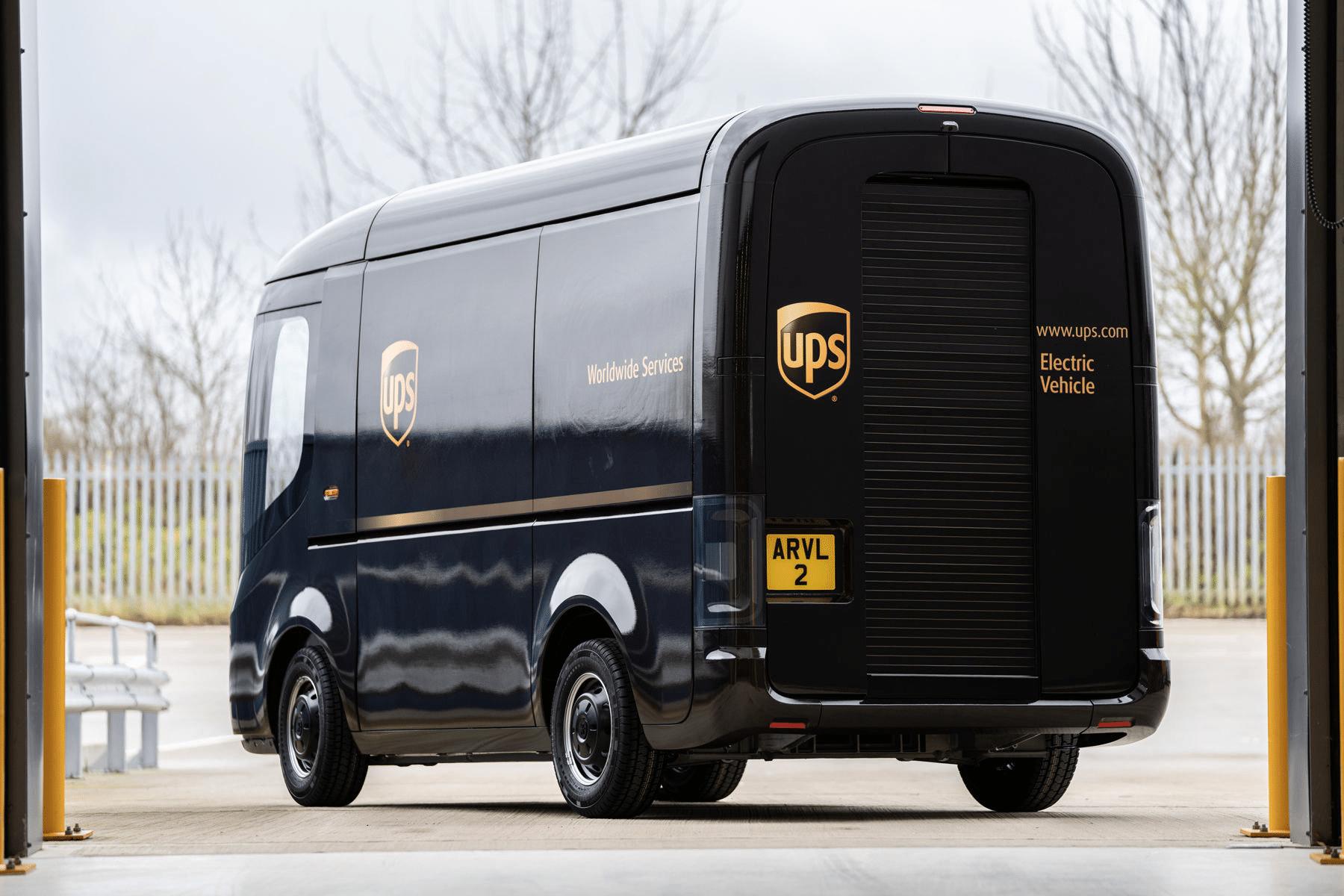 UPS Arrival electric trucks