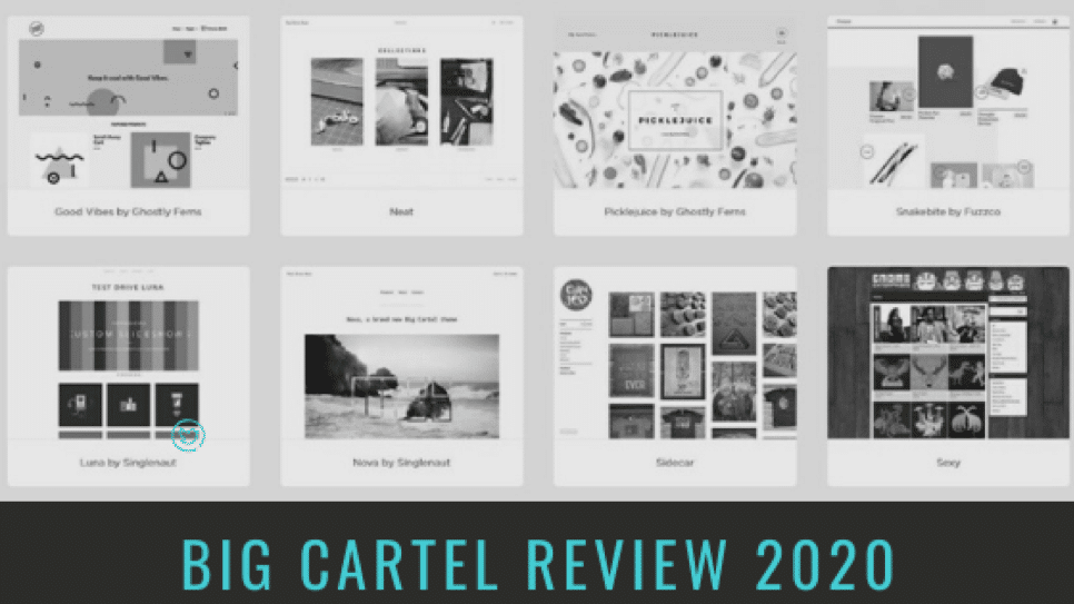 Big Cartel Review 2020