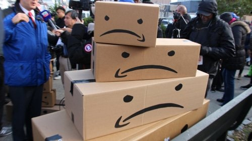 Amazon protests