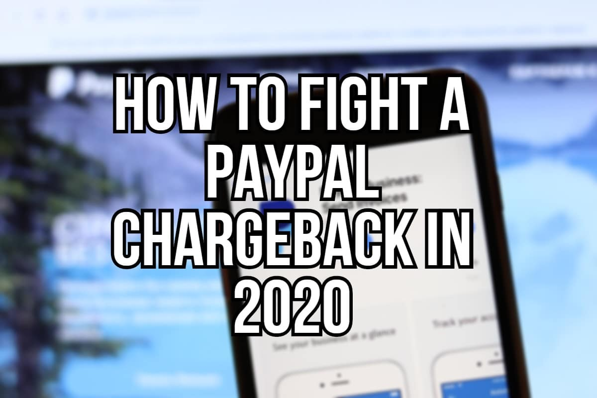 PayPal chargeback in 2020