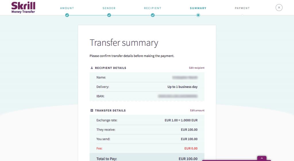 Skrill Money Transfer Review