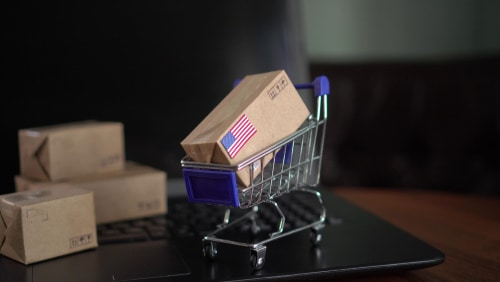 US e-commerce