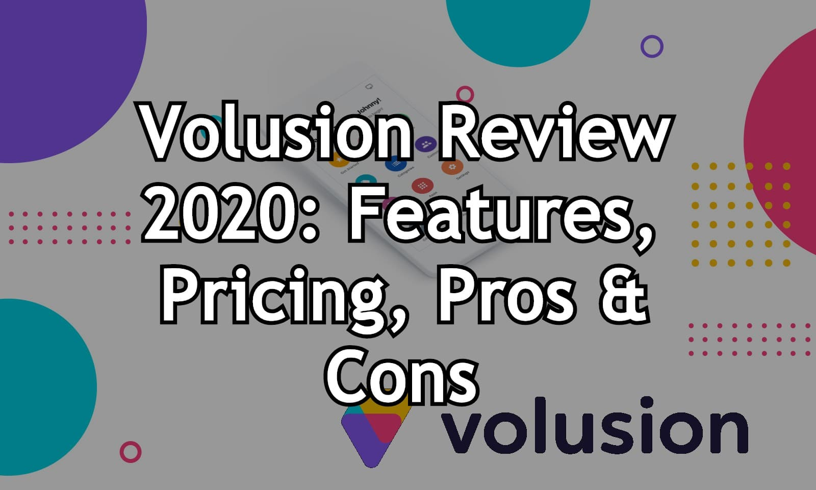 Volusion Review 2020