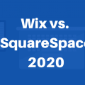 Wix vs SquareSpace 2020