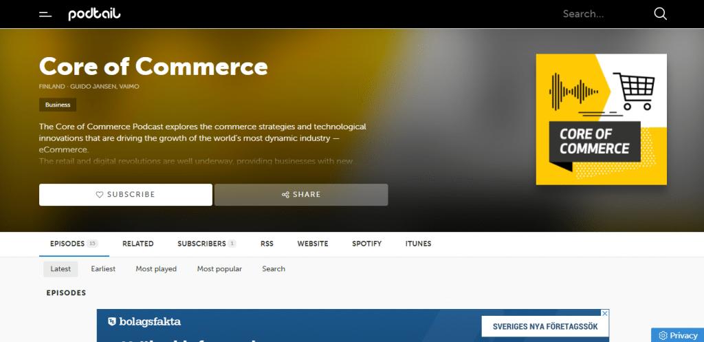 Core of commerce