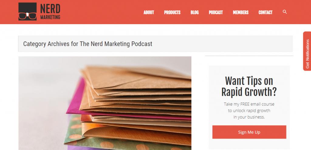 Nerd Marketing Ecommerce Podcast