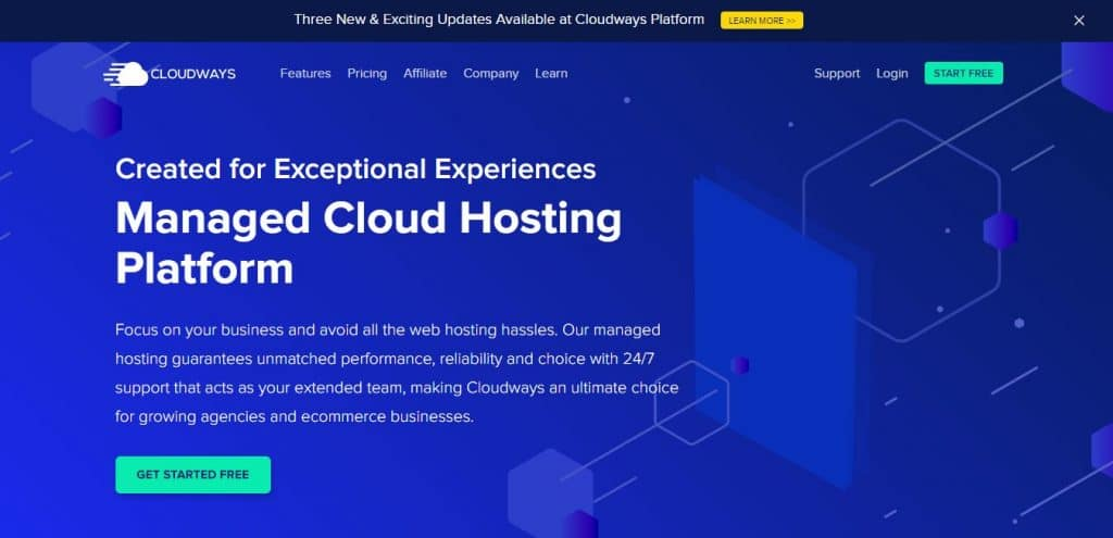 Cloudways: The Top Web Hosting for e-commerce