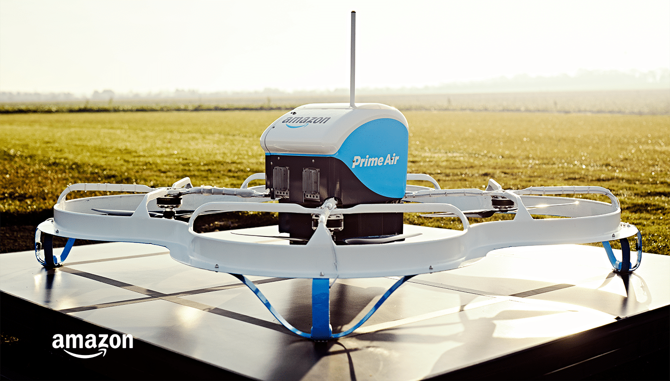 Amazon Prime Air; One of the top Drone Delivery Companies
