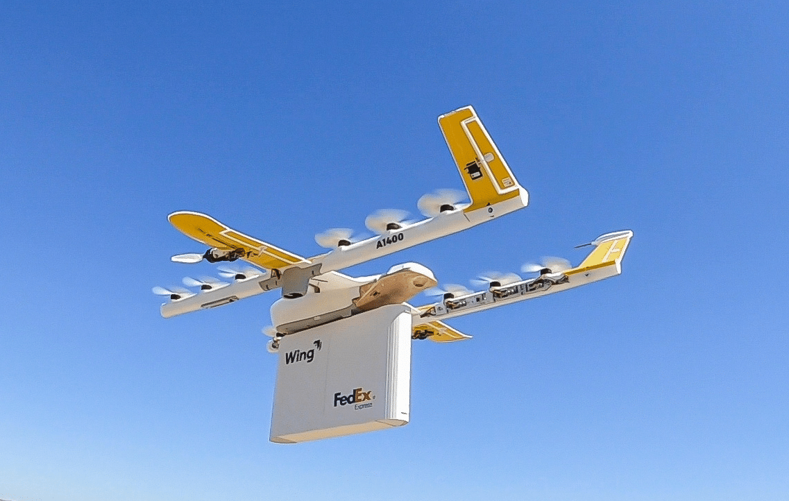 FedEx; One of the best Commercial Drone Delivery Companies